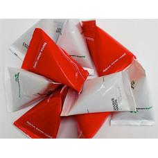 Pastiller i poser - flotte trekantsposer med slik