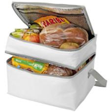 Køletaske - med stort kølerum og ekstra kølesektion i toppen