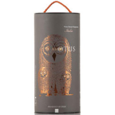 AsioOtus rødvin  - i flot bag in tube boks