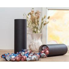 Luksus chokoladekuglemix i sorte paprør - fyldt med kvalitet