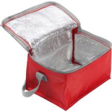 Køletaske med  tryk - med plads til 6 dåser