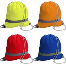 Skoposer - minirygsække - med refleksstribe -  4 farver