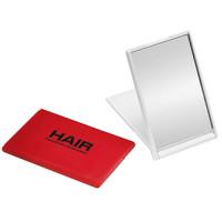 Lommespejl  - taskespejl  - spejlet kan stå på et bord