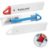 Hobby knive- kartonåbner -  med snab-back sikkerhedsfunktion