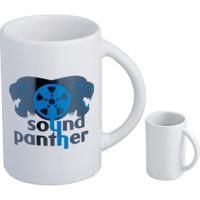 Kaffekrus - firmakrus med logo - keramik krus - TILBUD