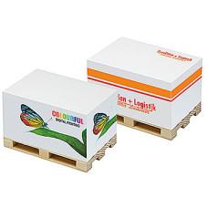 Palleblokke  - med tryk  - palleblokke med notatpapir