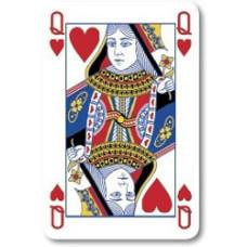 Spillekort - flotte spillekort med reklametryk fra 500 spil