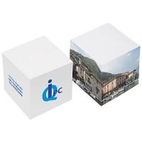 Kubusblokke - papirblokke med  reklametryk