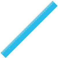 Lineal - med tryk - 30 cm - mange farver - også m. digitaltryk