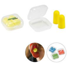 Ørepropper med logo - soft høreværn i opbevaringsboks