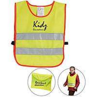 Refleksvest  - til  børn - sikkerhedsvest - trafikvest
