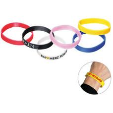 Silikone armbånd  med logo - til børn og voksne