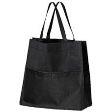 Revisorpose - revisortaske med udvendig  lomme