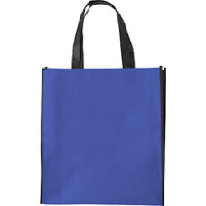 Bæreposer - med tryk - billige Indkøbsnet - sort kontrastfarve