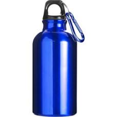 Drikkedunk- med tryk - vandflaske  i aluminium