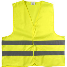 Refleksvest - trafikvest - str. M - XL - XXL- Neongul & Orange