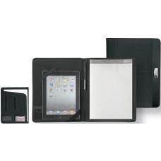 Lædermappe -  A4 mappe med plads til Ipad og tablet