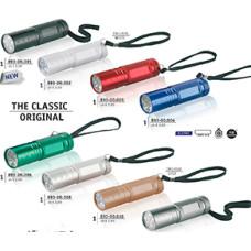 Led lygter- Basic 9 Led lommelygte- m. skarp hvidt lys