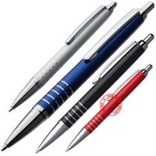 Kuglepenne - kuglepenne med flot metalfinish