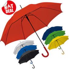 Paraply - logoparaplyer med automatisk åbning