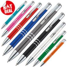 Metal kuglepenne  - reklamekuglepenne med lasergraveret logo