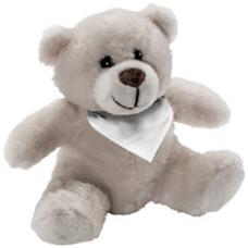 Bamser - teddybamser med tryk - 10 cm -