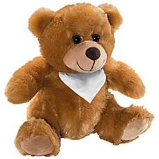 Plysbamser - Teddybamser med tryk - 15 cm - Mor