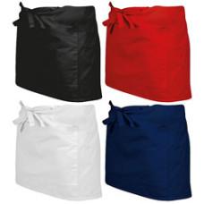 Forklæde - lille serveringsforklæde - 4 farver