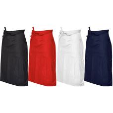 Forklæde - stort forklæde - 4 farver