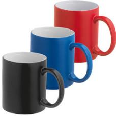 Kaffekrus - farveskiftende tryk ved varme eller kolde drikke