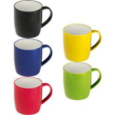 Kaffekrus - keramikkrus - 5 farver