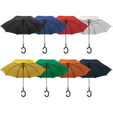 Paraply -  med håndtag til at hænge på håndled
