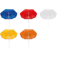 Parasol  - strandparasol med tryk