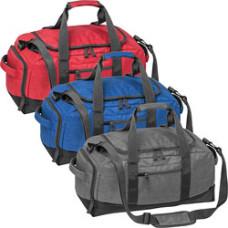 Sportstaske - weekendtaske  - rejsetaske med tryk - 3 farver