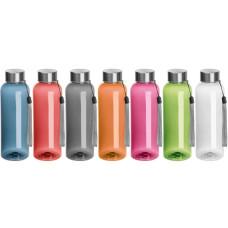 Drikkedunk -  vandflaske - PET plastikflaske med håndsnor