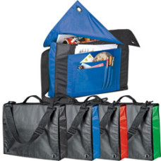 Konferencetaske - messetaske  - college taske med skulderrem