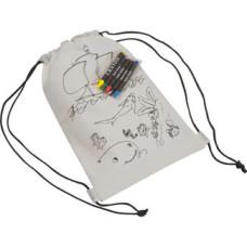 Skoposer - minirygsæk -børnerygsæk m. 5 penne til dekoration