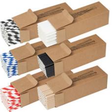 Sugerør - lavet af  miljøvenligt papir