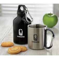 Kaffekrus  - stålkrus med dobbeltvæg