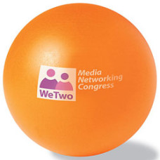 Anti stress bolde - stressbold med logo - 6 friske farver