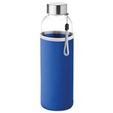 Vandflaske med logo  - med Neopren hylster