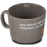 Kaffekrus - Ocean kaffekrus med logo