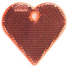 Refleks - refleksbrikker - hangers i hjertefacon og snefnug