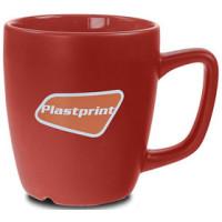 Kaffekrus - reklamekrus - Parga krus  - mat stentøjskrus