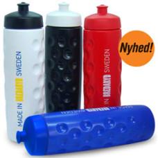 Drikkedunk - til  tørstige sjæle - Dimple Soft vandflaske 0,9 liter