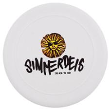Frisbee  med tryk - summerfun til alle aldre