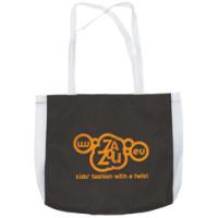 Bæreposer med logo - shoppingposer - med lange stropper -