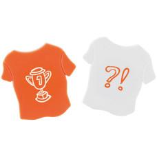 Magneter- T-shirts magneter med logo