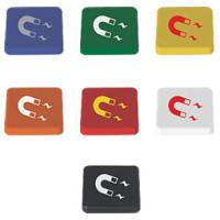 Magnet - med logo - 7 farver