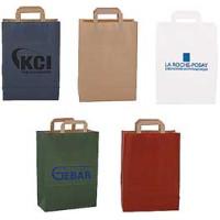Papirsposer - bæreposer  med tryk - 2 størrelser